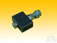 Дверная направляющая,, дно, 30 x 20 x 11,8 мм, отверстие ø 6,2 мм, ETN HM-1000, вкл. Болт и монтажный материал, KONE