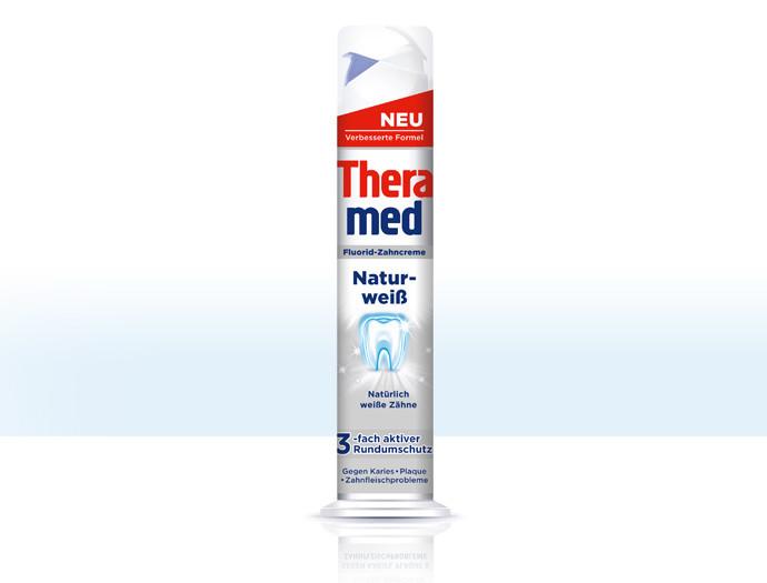 Зубная паста Theramed Natur - weiße, 100ml.