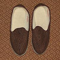 Теплые комнатные мужские тапочки р.40-41, по стельке 26- 26,5 см