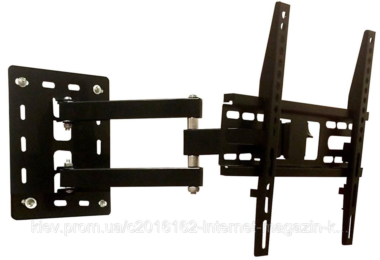 Кронштейн Electriclight LCD-806  (КБ-806)  поворот/наклон/вынос vesa 400*400