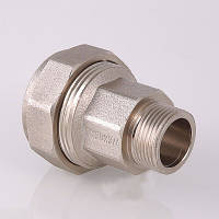 """Фитинг обжимной VALTEC 15 мм x 1/2"""" для стальных труб с переходом на наружную резьбу"""