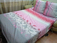 Комплект двухспальный  Голд бязь люкс серый