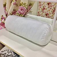 Базовая подушка-валик 50х20 без наволочки: основа под декоративную наволочку