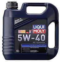 LIQUI MOLY Optimal Synth 5W40 4л 3926 моторное масло синтетическое