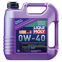 Моторное масло 0w40 SYNTHOIL ENERGY Liqui Moly 4л