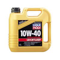 Моторное масло 10w40 LEICHTLAUF Liqui Moly 4л