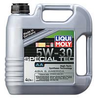 Моторное масло 5w30 Leichtlauf Speсial ТЕС AA Liqui Moly (7516) 4л