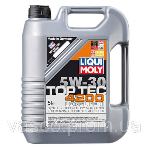 5w30 TOP TEC 4200 кан.5л Liqui Moly (7661) олива моторна