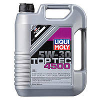 LIQUI MOLY Top Tec 4500 5W30 5л 2318 моторное масло синтетическое