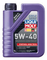 LIQUI MOLY Synthoil High Tech 5W40 1л 1924 моторное масло синтетическое