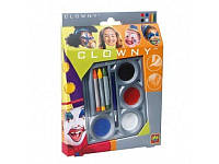 Набор для гримма - МАСКАРАД (краски, карандаши, кисточка), BOC067756