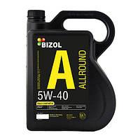 Моторное масло 5w40 Allround Bizol (В85016) 4л
