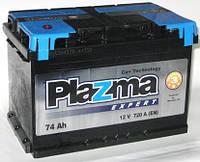 Акумулятор стартерний 6СТ-74 Plazma Expert Евро