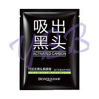 Чёрная маска-пленка BioAqua Deep Cleansing Black Mask