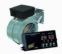 Комплект автоматики для твердотопливного котла AIR Logic (пласт.) + ELMOTECH VFS-120 295м3/ч