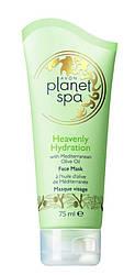 """Маска для обличчя з маслом оливи """"Райське зволоження"""", Avon Planet Spa, Ейвон Планет Спа, 75 мл, 93495"""