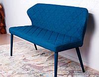 Кушетка кресло банкетка Valencia (Валенсия) синий текстиль