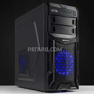Системный блок РЕГАРД RE742 (Intel Pentium G4560 3.5GHz/GeForce GTX 1050, 2GB/8GB DDR4/1TB HDD/400W), фото 2