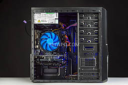 Системный блок РЕГАРД RE743 (Intel Pentium G4560 3.5GHz/GeForce GTX 1050, 2GB/8GB DDR4/1TB HDD/400W), фото 2
