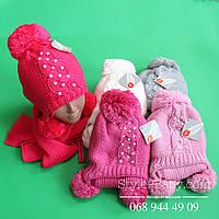 Детская шапка и шарф на девочку