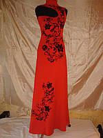 Нарядное длинное платье р - р 42 - 44.