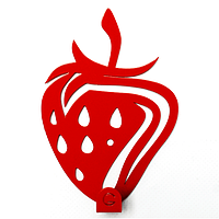Вешалки  Вешалка настенная  Strawberry