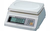 Весы фасовочные CAS SW-2D до 2 кг, платформа из пластмассы (два индикатора), фото 1