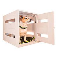 Деревянный домик будка Ferplast DOG HOME SMALL для собак мелких пород, 65*45*54