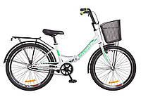 """Formula Smart 24"""" 2018 cкладной велосипед бело-зеленый"""