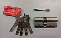 Цилиндр замка Kale 164 DBNE 68 мм никель, фото 1