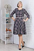 Романтичное женское платье с поясом