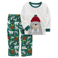Флисовая пижама Carter's для мальчиков (CША)