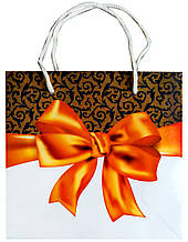 Подарунковий пакет глянцевий 16 см