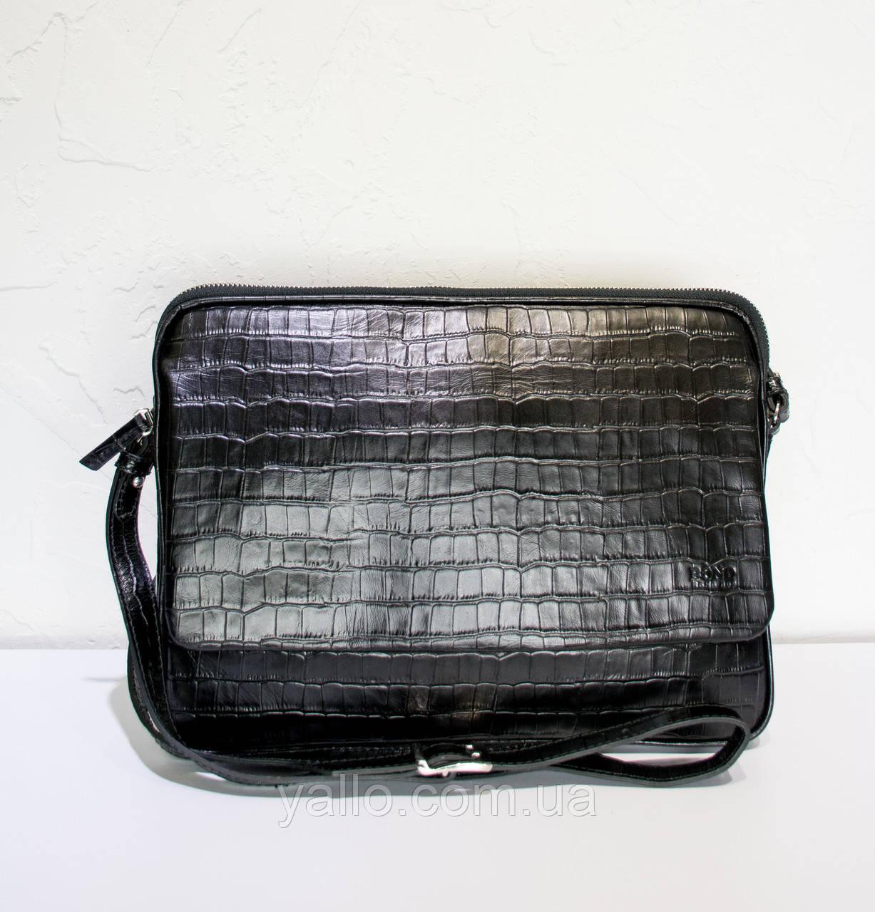 Мужская кожаная сумка BOND1375-356
