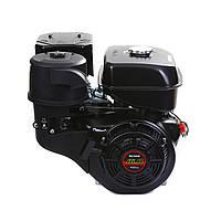 Двигатель бензиновый Weima WM190F-S2P New (шпонка, 25 мм, шкив на 2 ручья 76 мм, 16 л.с., ручной стартер), фото 1