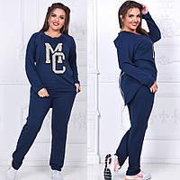 Женский спортивный костюм  (48,50,52,54,56) —  двухнитка  купить оптом и в Розницу в одессе 7км