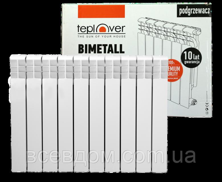 Биметаллический радиатор TEPLOVER 500/96