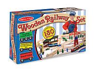 Деревянная железная дорога Melissa&Doug Игрушка для мальчика
