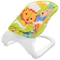 Кресло-качалка для детей 88966 три положения спинки (салатовая)