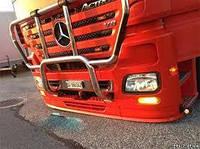 Защита переднего бампера люстры для грузовых авто