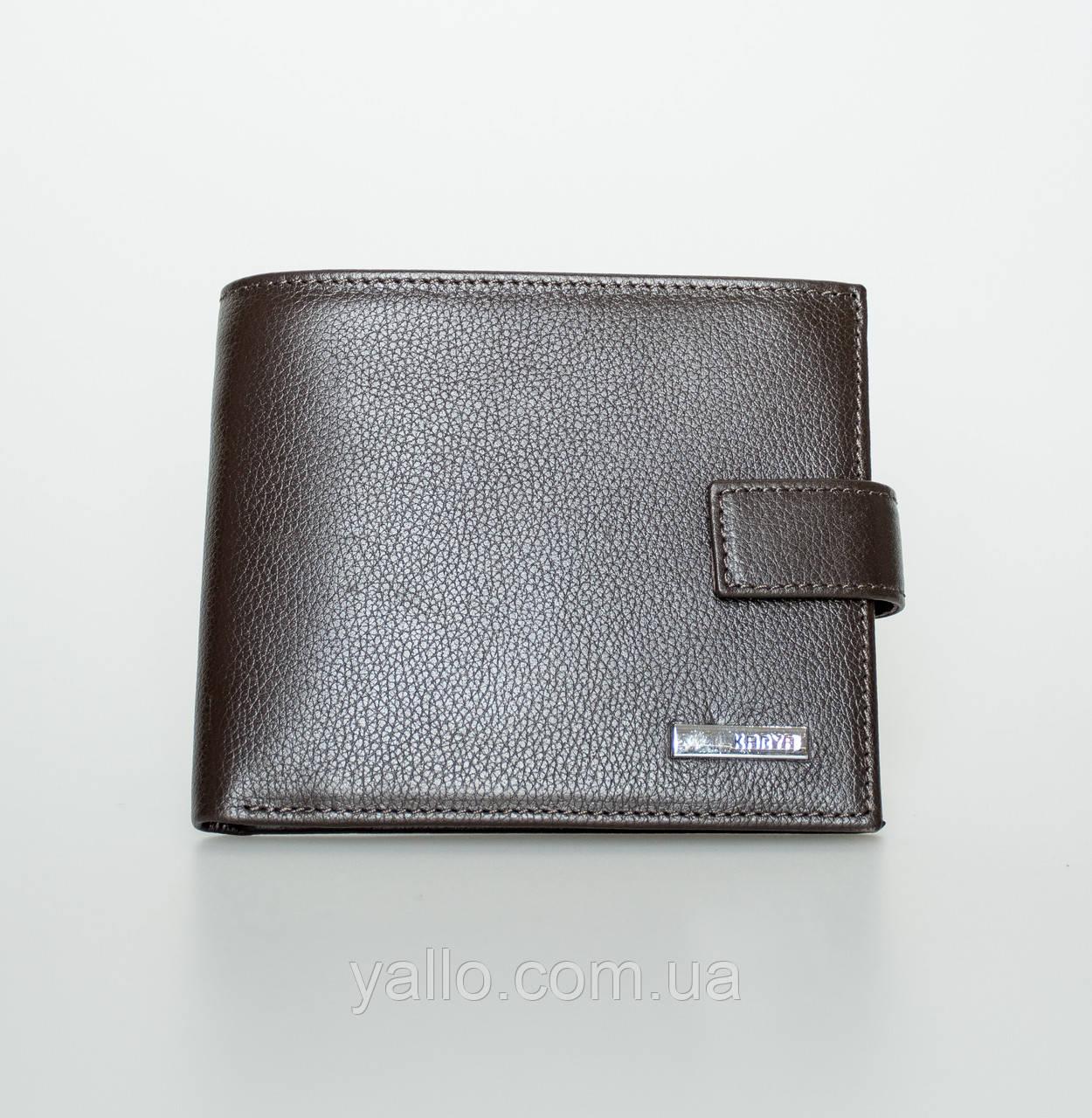 Мужской кошелёк из Натуральной Кожи, KARYA 0440-39
