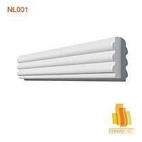 НАЛИЧНИК NL001, размеры:  140 x 45 мм
