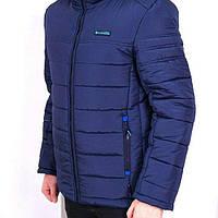Куртка зимняя мужская Columbia синяя