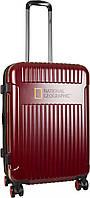 Чемодан средний NATIONAL GEOGRAPHIC Transit N115HA.60 красный