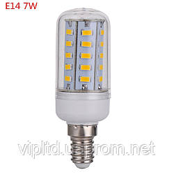 Лампа светодиодная Alesto 7w Lux 6000К  Е14 220V
