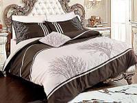 Комплект постельного белья Vip сатин OLINDA BEJ FIRST CHOICEевро