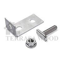 Монтажные алюминиевые уголки для крепления лаг Rehau
