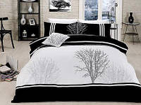 Комплект постельного белья Vip сатин OLINDA SIYAH FIRST CHOICEевро