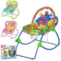 Кресло-качалка для детей BAMBI M 3500-1 подвески музыка вибро