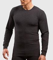 Мужская термо кофта KEY Hot touch (цвет черный) /  Мужское термобелье, теплое